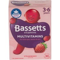 Bassetts Chewy Multivitamins For 3-6 Years – Strawberry Flavour