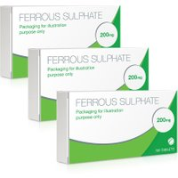 Ferrous Sulphate 200mg Tablets 100's