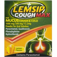 Lemsip Cough Max Mucus Cough & Cold