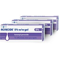Acnecide 5% W/W Gel – 3 Pack