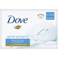 Dove Beauty Cream Bar Gentle Exfoliating Twin Pack