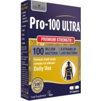 Natures Aid Pro-100 Ultra (100 Billion Bacteria) 8 Strain Complex