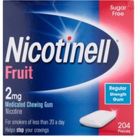 Nicotinell  Gum 2 mg Fruit 204 Pieces
