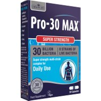 Pro-30 MAX (30 Billion Bacteria) 8 Strain Complex