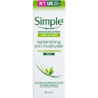 Simple Replenishing Rich Moisturiser for Sensitive Skin