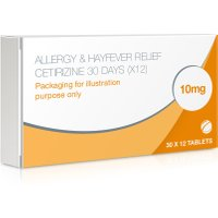 Allergy & Hayfever Relief Cetirizine – 360 Tablets