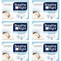 Breathe Right Nasal Strips Clear S/M – 60