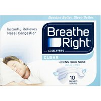 Breathe Right Nasal Strips Clear S/M – 80