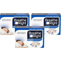 Breathe Right Nasal Strips Original Small/Medium Triple Pack