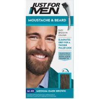 Just For Men Brush-In Facial Hair Colour – Medium-Dark Brown