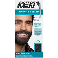 Just For Men Moustache & Beard Brush – In Colour – Real Black