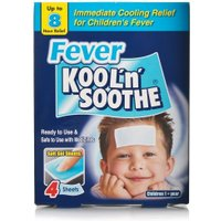 Kool 'n' Soothe Fever Sheets Kids