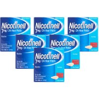 Nicotinell 7mg/24 Hour Patches Step 3 Six Pack