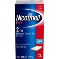 Nicotinell Nicotine Gum 2mg Fruit 96 Pieces