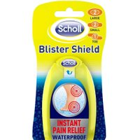 Scholl Blister Shield Waterproof Plasters