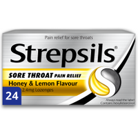 Strepsils Sore Throat Relief Honey & Lemon Lozenges