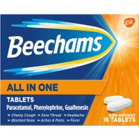 Beechams All In One Cold and Flu Relief Tablets