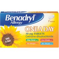 Benadryl One A Day Relief 7's