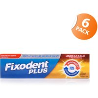 Fixodent Denture Adhesive Dual Power 6 Pack