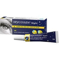 Hycosan Night Dry Eye Ointment Overnight Treatment