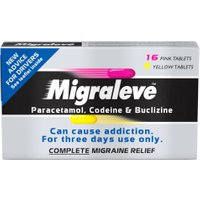 Migraleve Complete – 16 Pink & 8 Yellow Tablets