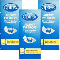 Optrex Allergy Eyes Eye Drops- Triple Pack